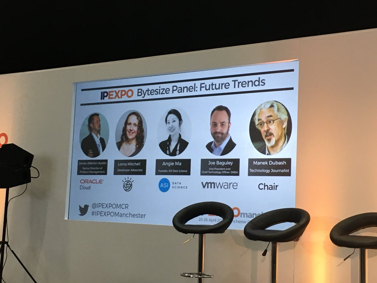 Looking forward to the #FutureTrends panel at the @IPEXPO  Mcr event #IPExpoManchester #cyber #cybercrime #CyberAttack #CyberAware #InfoSecurity #infosec #CloudComputing #cloudsecurity<br>http://pic.twitter.com/gHGV6HL8lr