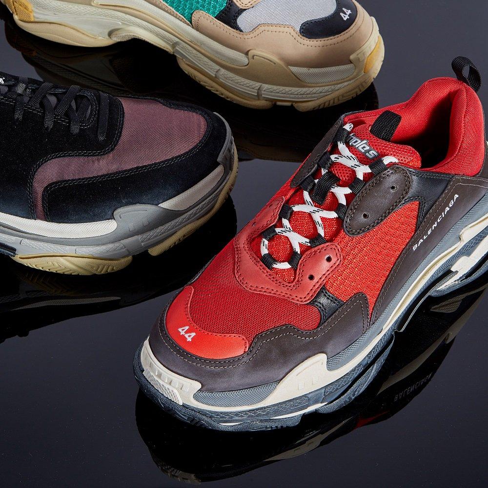 36d7a0900e1e Sneakerheads rejoice – the  BALENCIAGA Triple S has landed instore at   HNKnightsbridge