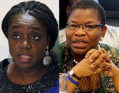 Image result for kemi adeosun and oby ezekwesili
