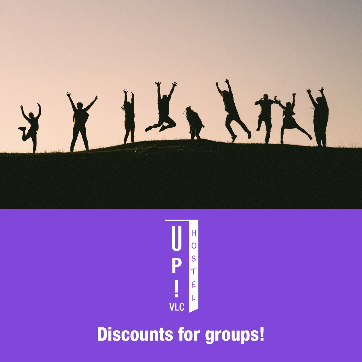 SPECIAL DISCOUNTS! #UpHostelValencia is the best #accommodation in the city for university #groups, friends, students... Enjoy with us your next summer vacation!  http:// uphostel.com/en  &nbsp;   #uphostel #hostelvalencia #valencia #alojamiento #turismo #amigos #viaje  #travel #hostel<br>http://pic.twitter.com/8qS1bMInMC