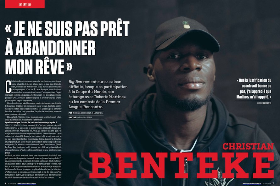 """""""All I want is recognition"""" - 'Frustrated' Benteke manages to sound both a little sad and a little optimistic in Belgian interview.  https://t.co/lbrzcynytG #cpfc"""