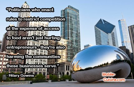 Today's #foodtruck quote of the day comes from Hilary Gowins. #WednesdayWisdom