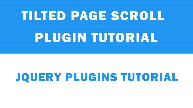Tilted Page Scroll Plugin   https:// goo.gl/EDuW95  &nbsp;    #webdesign #webdevelopment #webdeveloper #code #learntocode  #jQuery #HTML5 #css3 #webdesigner #UX #tutorial<br>http://pic.twitter.com/DsEWxVp55v