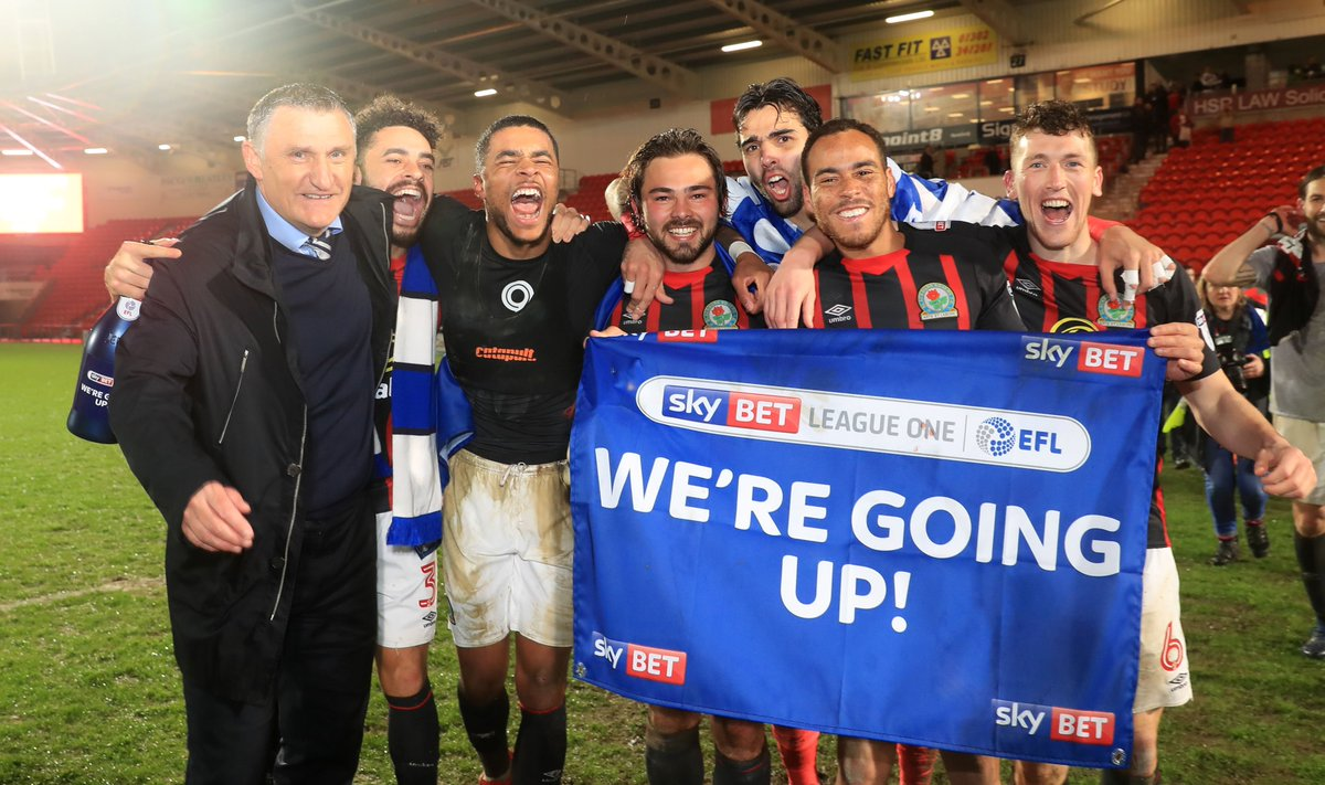 Blackburn Rovers have bounced back into the Championship at the first attempt.  Here's how Tony Mowbray turned the club and his own career around.  https://t.co/iwHog5TPar