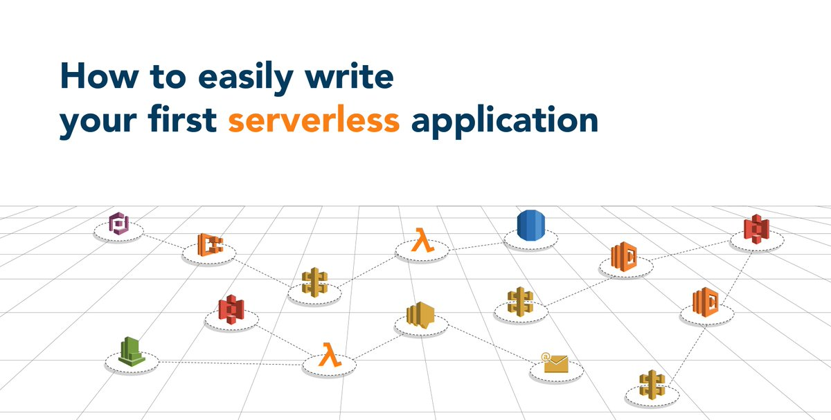 Here is the guide to write your first #serverless application!  http:// ow.ly/41jj30jFhvl  &nbsp;   #AWS #Amazon #Lambda #awslambda #Serverless #CloudComputing #FaaS @ThinkServerless @SLAppForge @SigmaIDE @awscloud<br>http://pic.twitter.com/EZGP4MNe5N