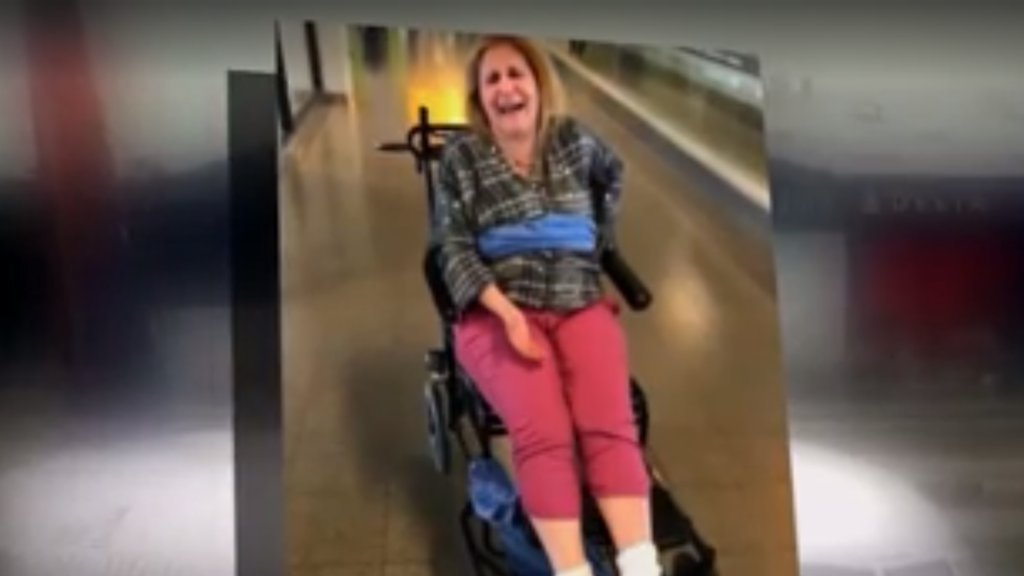 Disabled woman says Delta employees tied her to wheelchair https://t.co/t4cZzB5KUk
