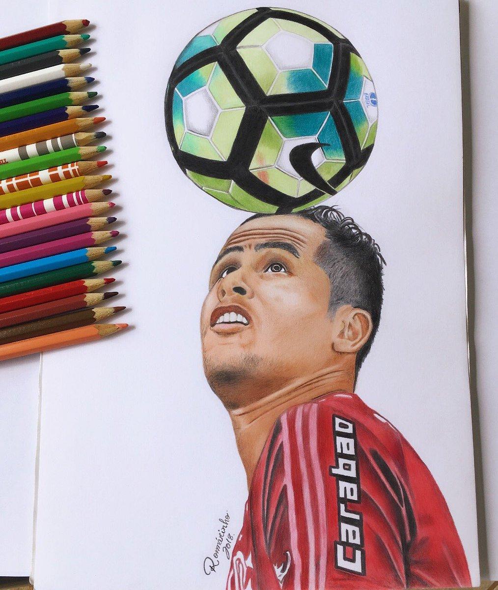 Romárinho Art On Twitter Desenho Finalizado