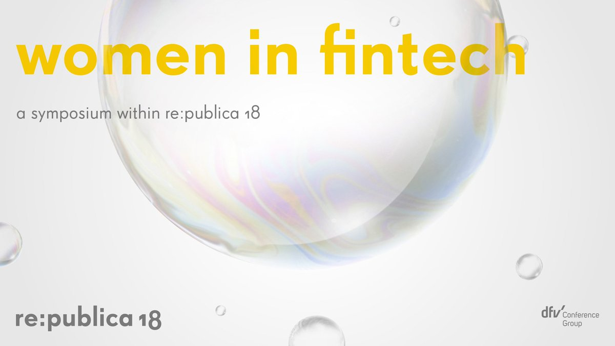 Meet our Managing Partner @CarolinGabor at the re:publica symposium #womeninfintech on 4th May, that brings together the financial market's female stakeholders. Carolin will be speaking about digital platforms as the future of finance  https:// fachkonferenzen18.re-publica.com/de/page/women- fintech &nbsp; …  #rp18<br>http://pic.twitter.com/8SMk4vVG5j