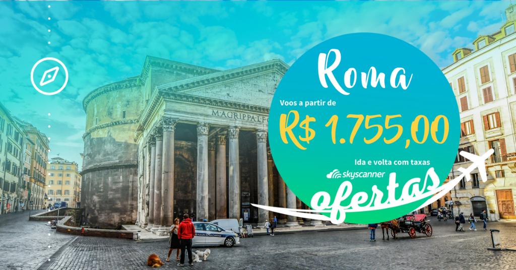 ⚠️ OFERTAS PARA EUROPA! ⚠️ Os voos mais baratos para a Europa só aqui no @SkyscannerBR ! 🤩 #Roma, #Paris, #Lisboa e outros destinos com passagens aéreas promocionais. Confira! https://t.co/qpdBm0ISQF