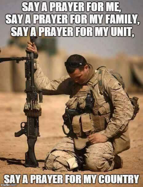 #WARRIOR #WEDNESDAY       SAY A PRAYER FOR ME      SAY A PRAYER FOR MY FAMILY   SAY A PRAYER FOR MY UNIT  SAY A PRAYER FOR MY COUNTRY   #GodBlessOurTroops   UNTIL THEY ALL COME HOME  #NoBetterFriendNoWorseEnemy   #USA <br>http://pic.twitter.com/yZkLDStVNB