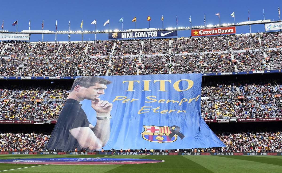 #OnThisDay in 2014, former @FCBarcelona coach Tito Vilanova passed away. #RIP