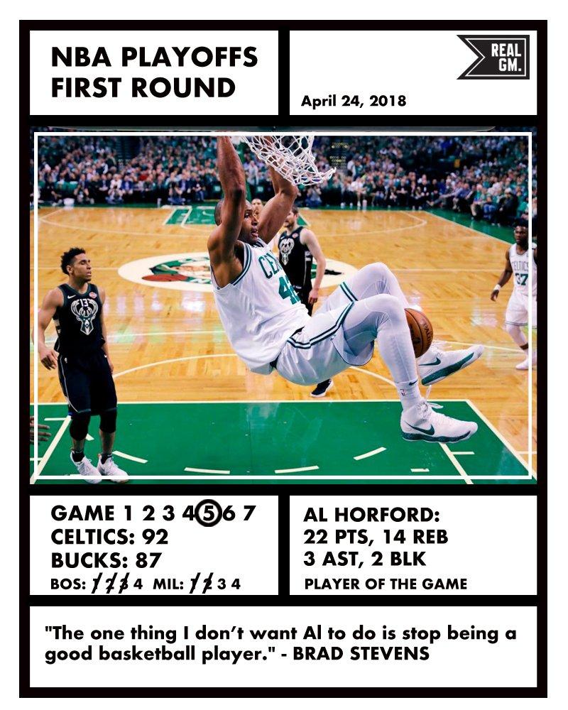 Hayward Scores 32 As Jazz Beat Nuggets: NBA Playoffs Snapshots (Apr. 24): Celtics/Bucks, 76ers