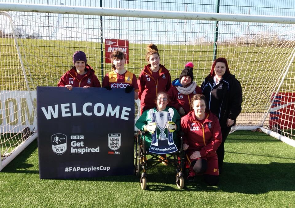 Our Head Coach Paul Jubb talks about our upcoming trip to @StGeorgesPark for @FAPeoplesCup Disability Ladies & U16's finals!!   thefa.com/news/2018/apr/…