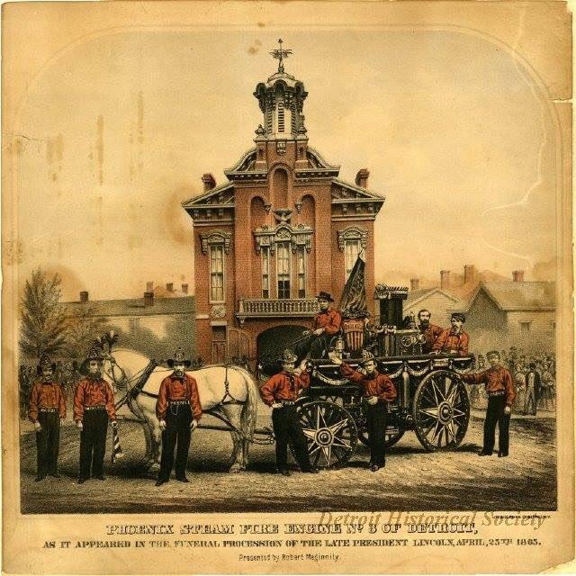 1865 : Detroit Holds Parade in Honor of Slain President Lincoln