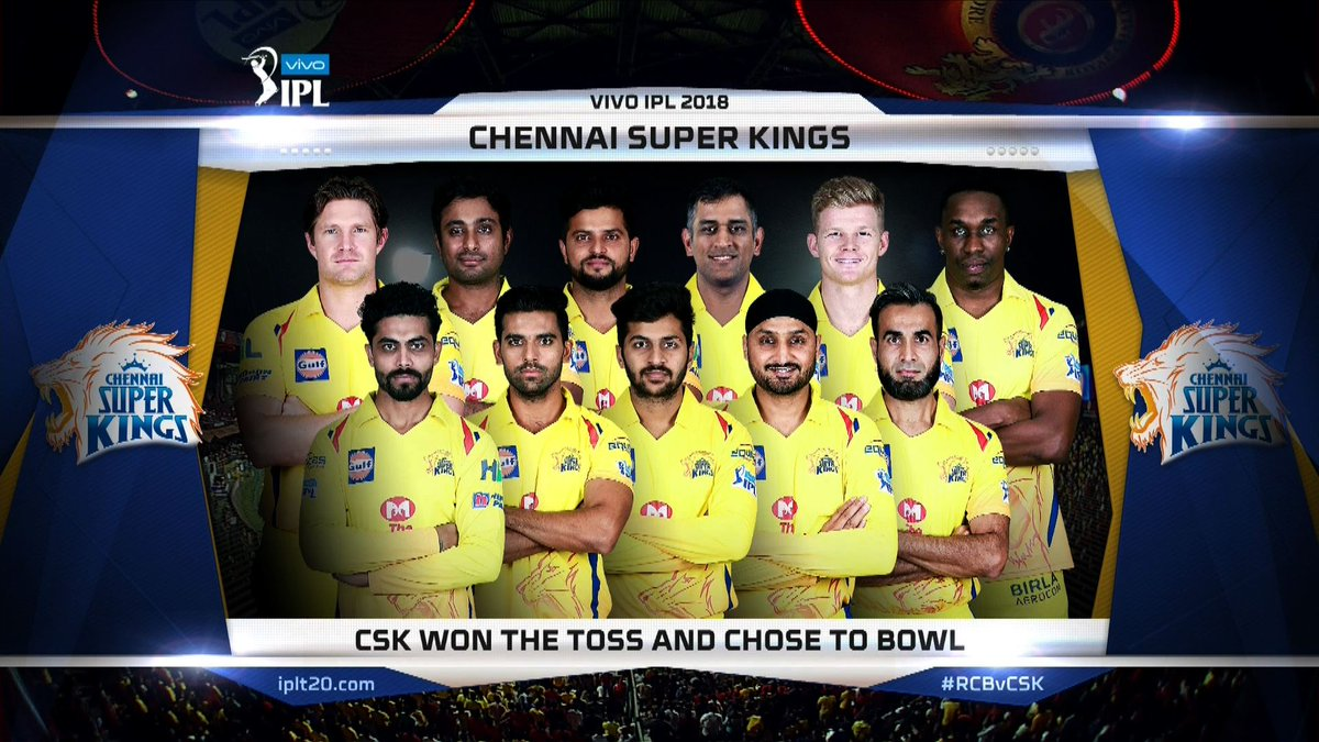 IPL 2018: CSK beat RCB by 5 wickets in Bengaluru