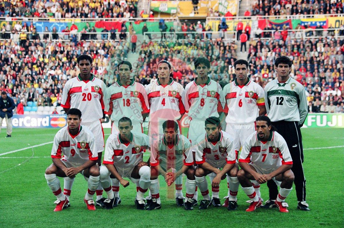 Maroc on twitter a la t te des lions de l 39 atlas de 1995 l 39 an 2000 le technicien fran ais - Maroc coupe du monde 1998 ...
