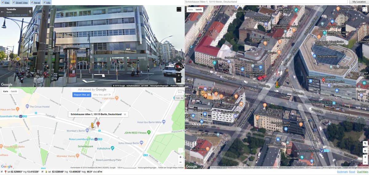 Lars Wienand On Twitter Useful Mashup Google Maps Street View