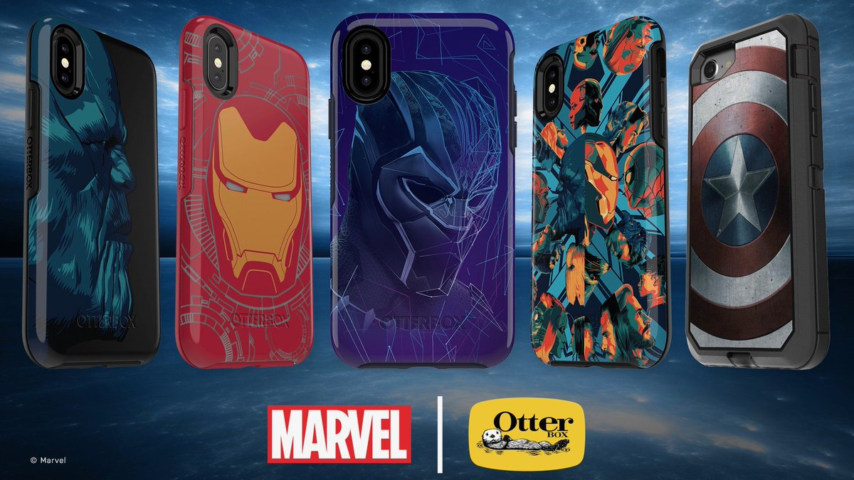OtterBox releases new 'Avengers: Infinity War' iPhone cases with 20% off deal https://t.co/r935ms0J4D by @michaelpotuck