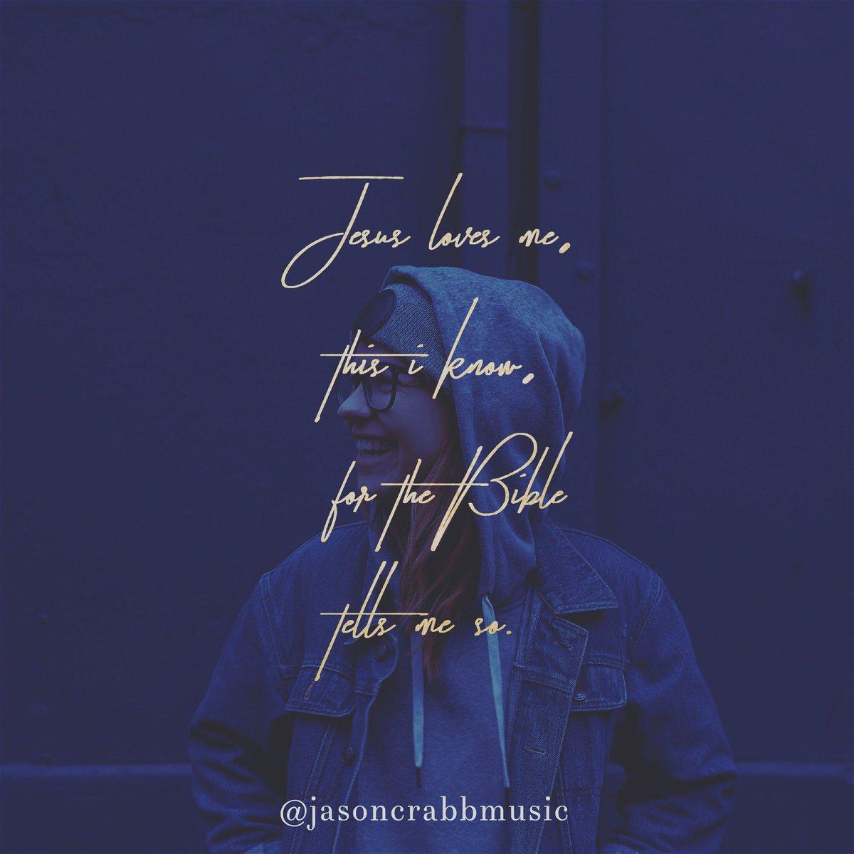 Yes, Jesus loves me! #jesus #love #wednesdaywisdom #wednesday #wednesdaymotivation #truth #bible