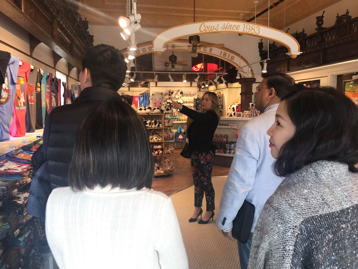 d6dca8c0a87 ... our clients participated in a tour of the Confederation Court Mall.  Thank you to COWS (shown here), Uptown Shoes, Kent Street Market for  sharing your ...