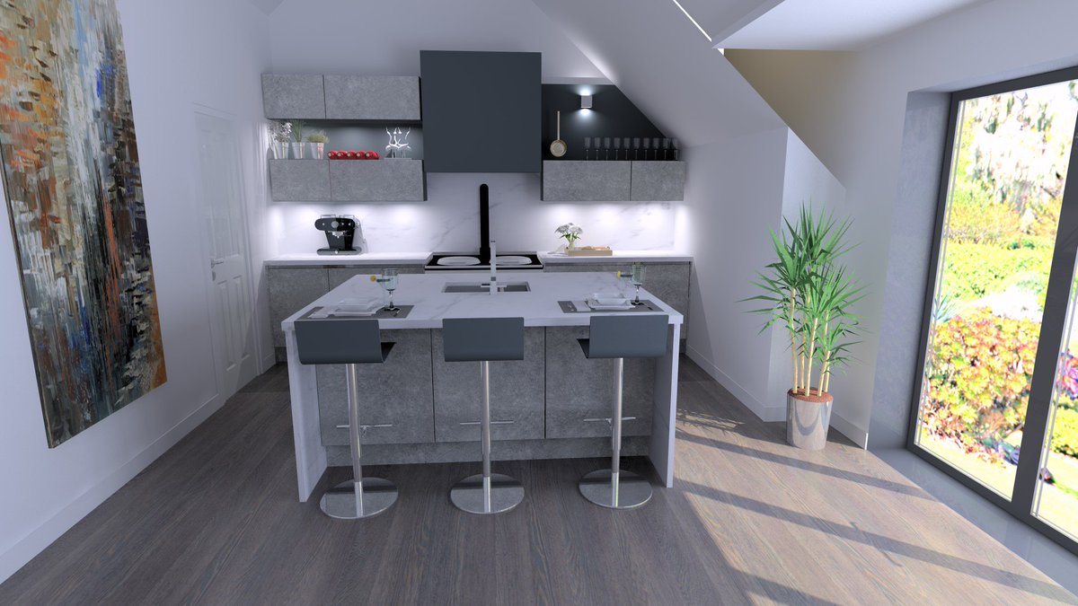 ... Ck Kitchens Bathrooms Falmouth The Use Of 3d Rendering Really Helps To  Visualise What The Finished ...