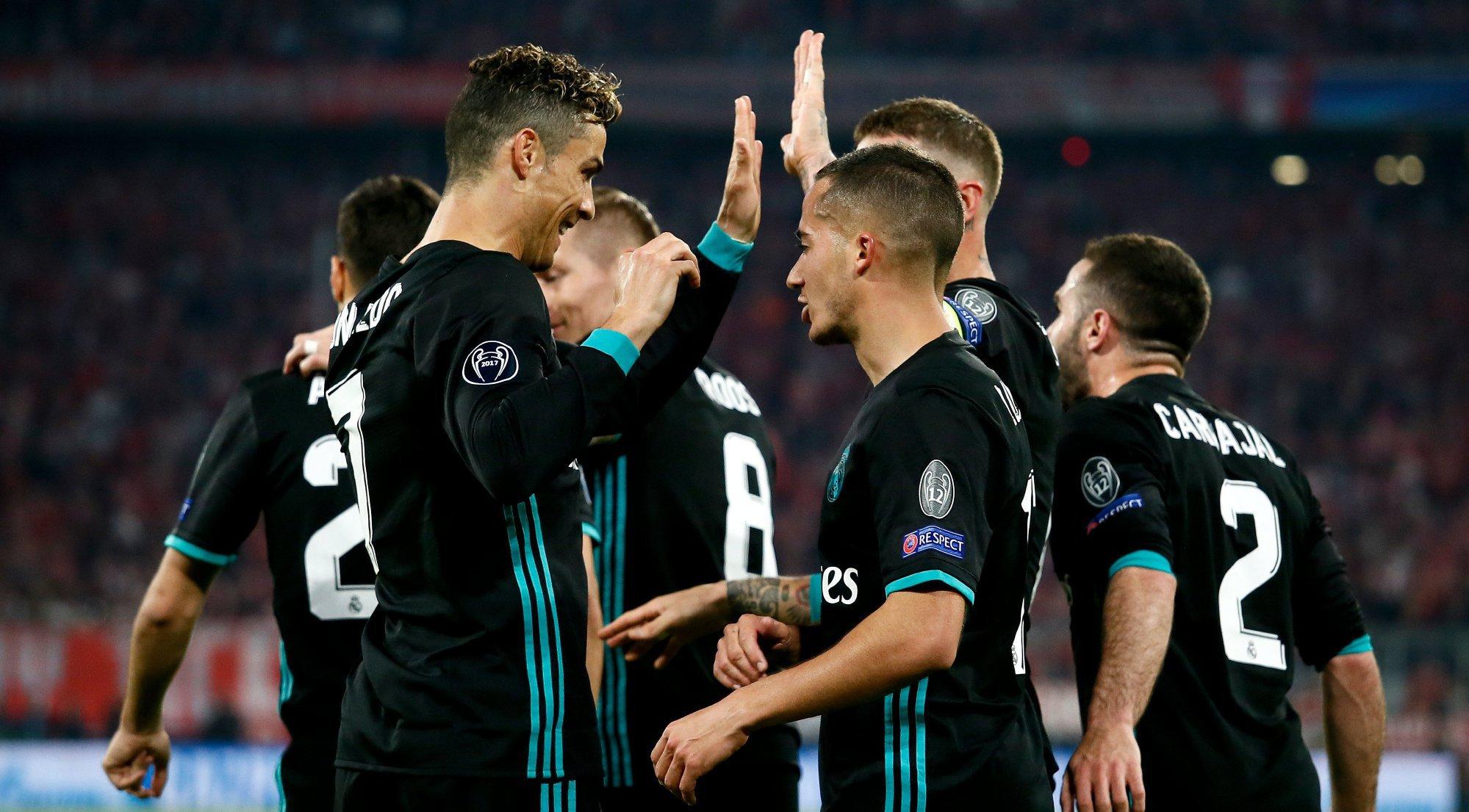 أهداف مباراة ريال مدريد وبايرن ميونيخ كاملة
