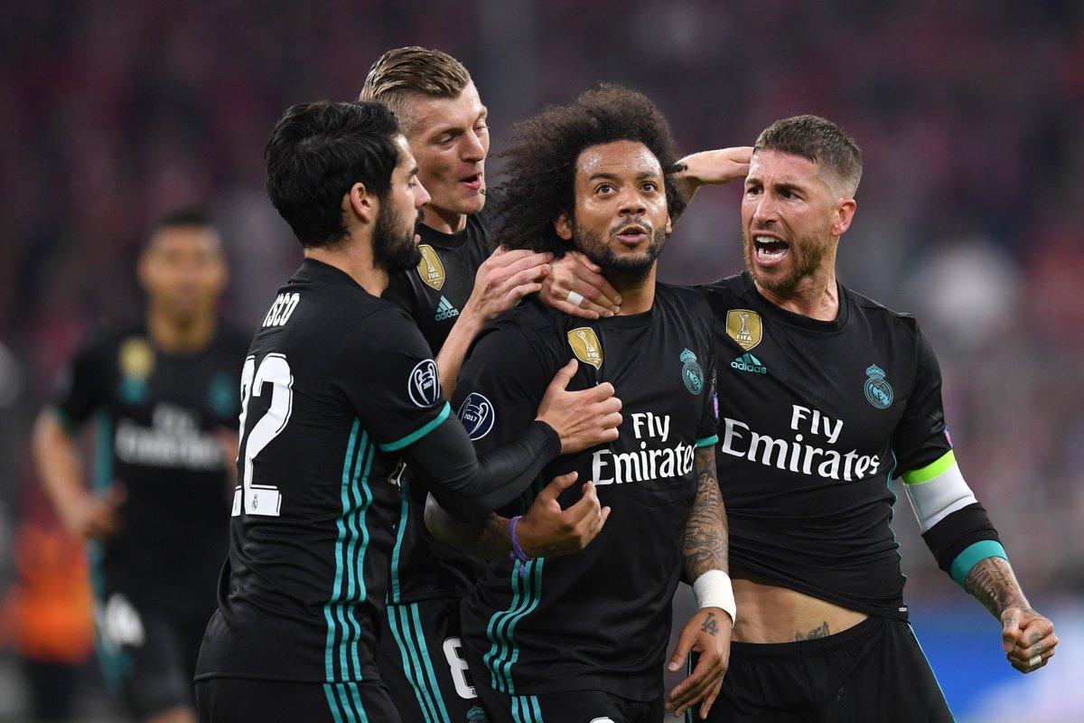 Bayern Munich vs Real Madrid: (bán kết lượt đi Champions League)