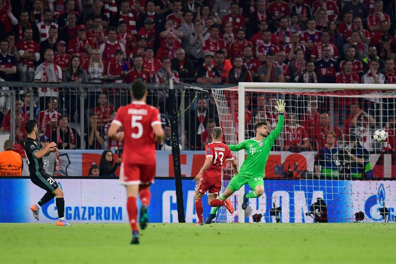 هدف ريال مدريد الثاني في مرمى بايرن ميونيخ