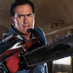 Image for the Tweet beginning: Bruce Campbell le dice a