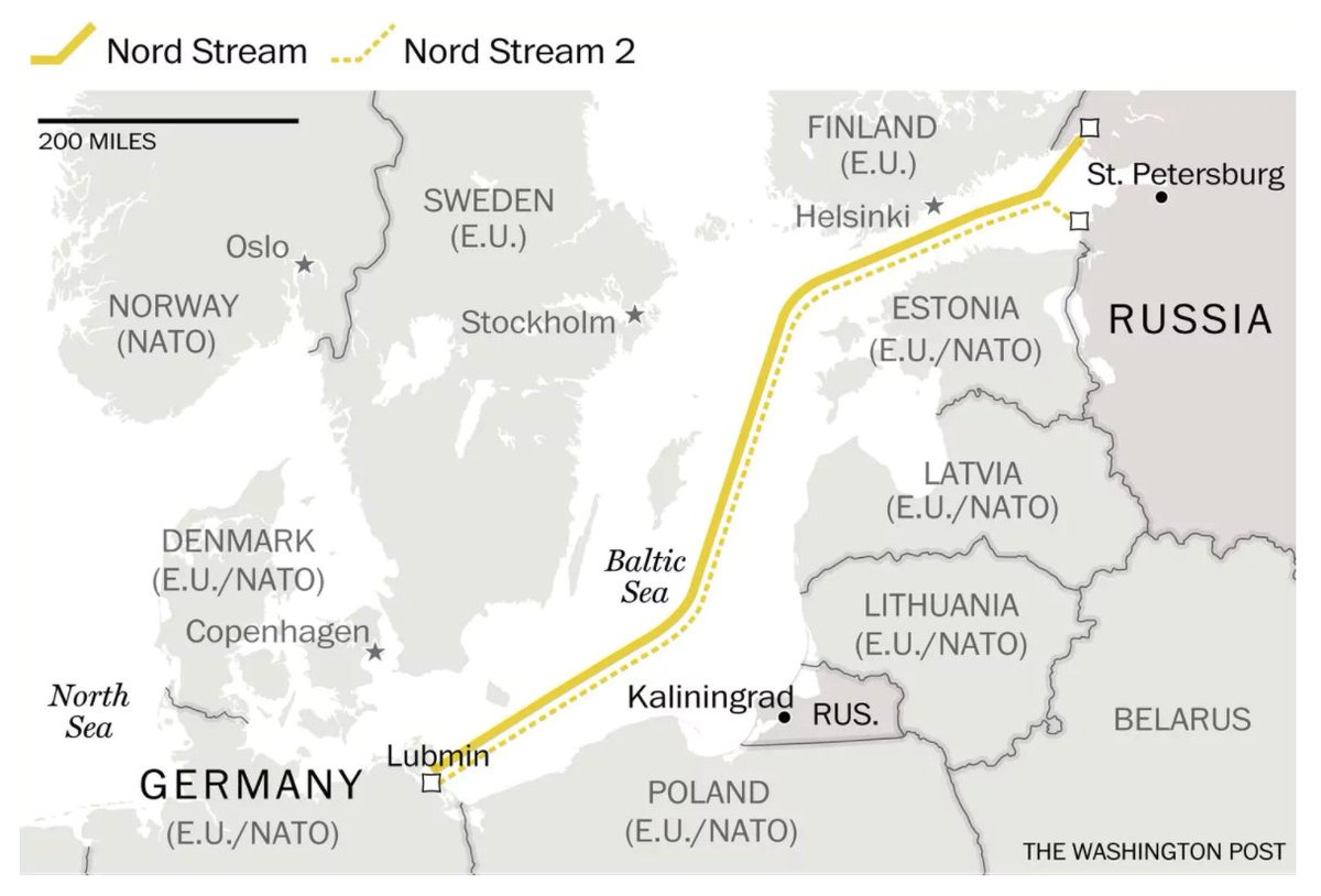 How a proposed Russian pipeline to Europe is dividing the West https://t.co/mJ2s7uTChX