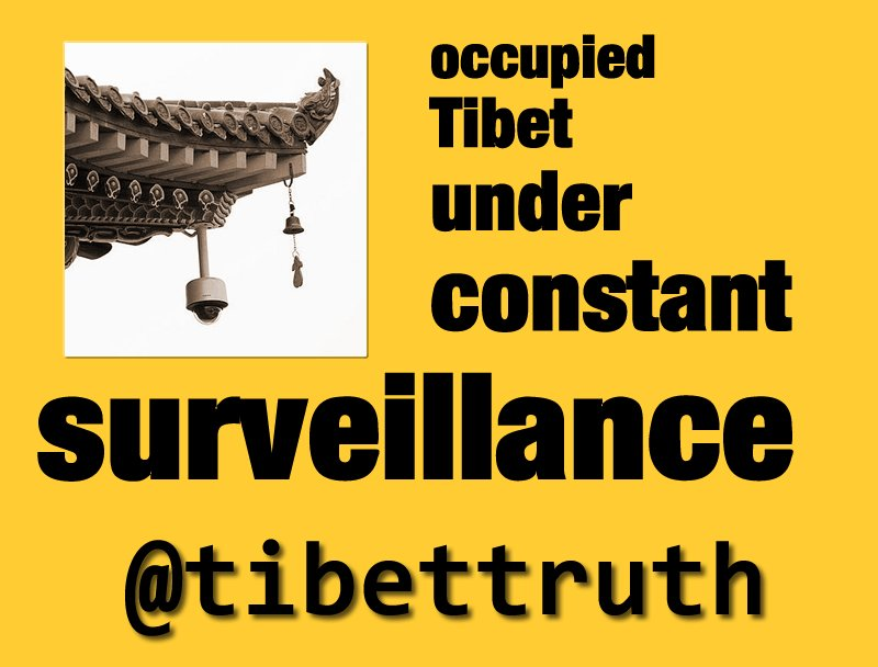 No Hiding Place For Oppressed #Tibetans In Occupied #trueTibet #tyranny #totalitarianism #surveillance #cctv<br>http://pic.twitter.com/mR1YFJgDIq