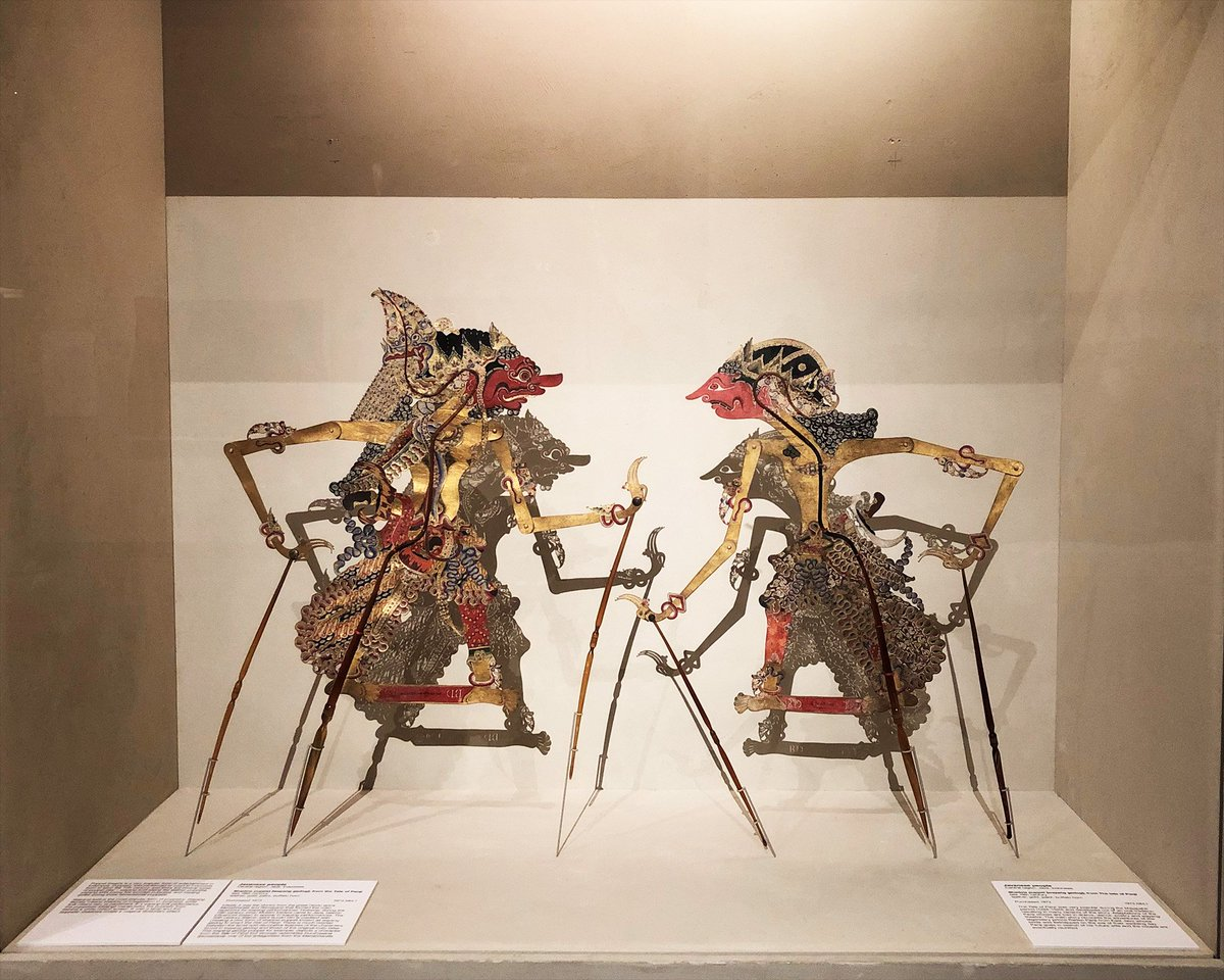 .#NGAPlay designers @indieguerillas were inspired by wayang shadow puppets & batik cloths found in our Asian galleries. In Art for lunch today 12.45pm, Curator of Asian Art Carol Cains, will talk you through these Indonesian treasures. Free –  https://t.co/yUQ4OtqWeG#NGAFamilies