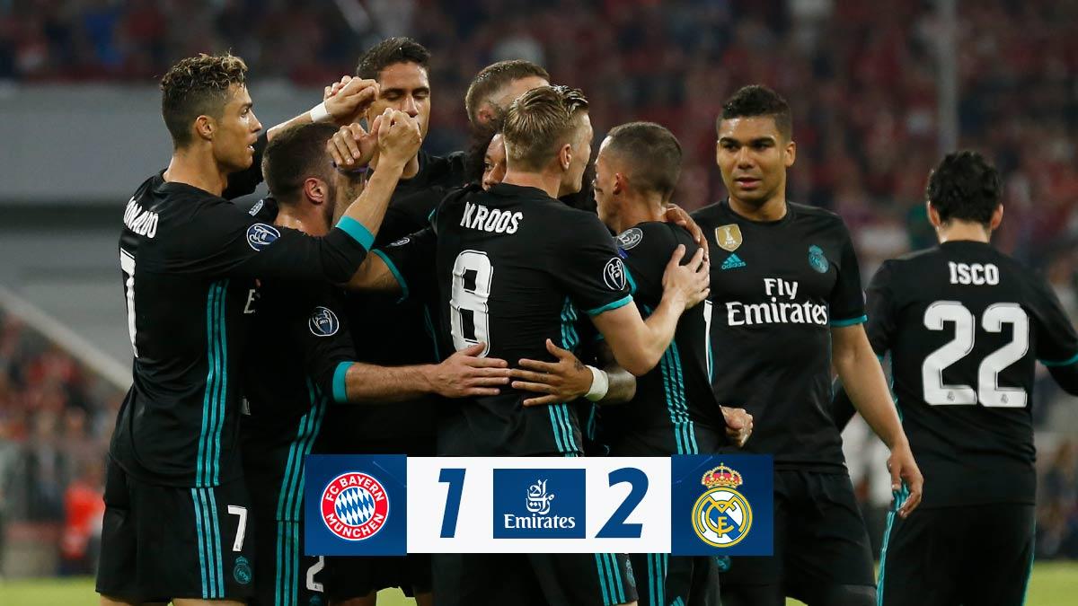 Chấm điểm kết quả Bayern Munich 1-2 Real Madrid