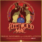 Image for the Tweet beginning: .@fleetwoodmac announces Golden 1 Center