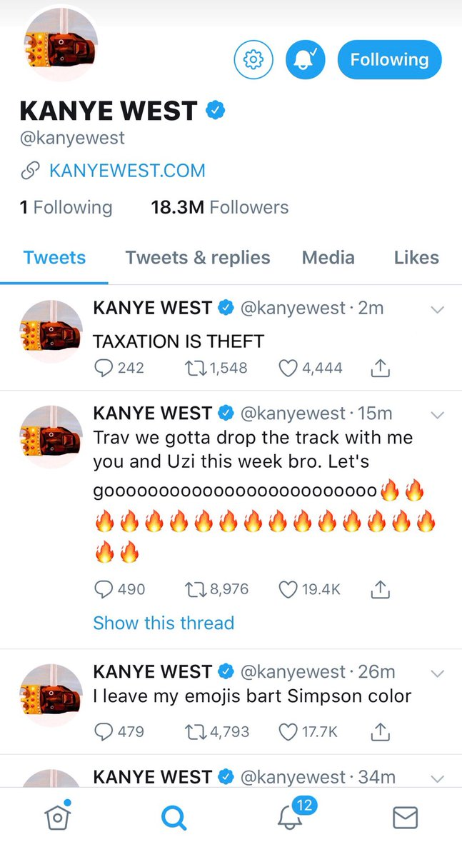 Ye's transformation into the Libertarian Movement is complete