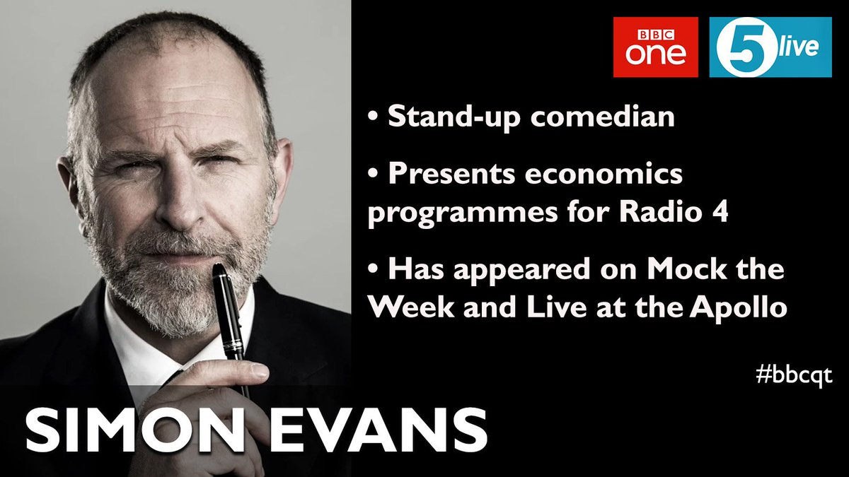 And last but not least on Thursday's #bbcqt is @TheSimonEvans