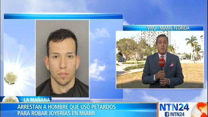 bbbb9054ea95 eeuu capturan al hombre que usaba petardos para robar joyerias en miami