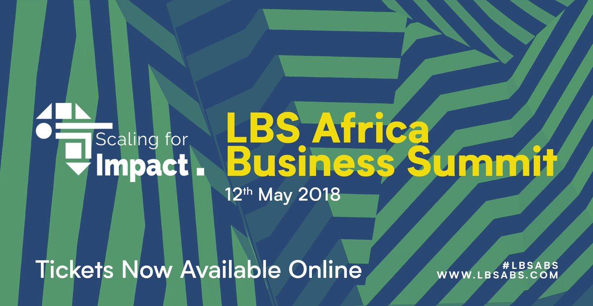 We&#39;re planning big things for this year's @LBS #Africa Business Summit. Secure your tickets NOW for the opportunity to network, learn or land yourself a new job on the day! Tickets AVAILABLE for both #students and #professionals  http:// abs2018.lbsafricaclub.org / &nbsp;     #LBSABS #ScalingForImpact<br>http://pic.twitter.com/cxSxjiWHRr