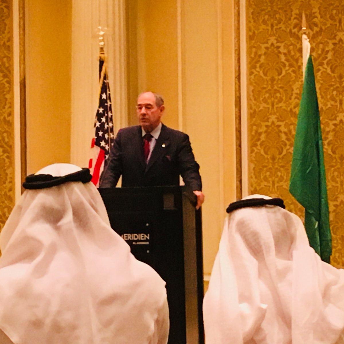 NEI's Dan Lipman at conclusion of U.S. nuclear energy trade mission to Saudi Arabia
