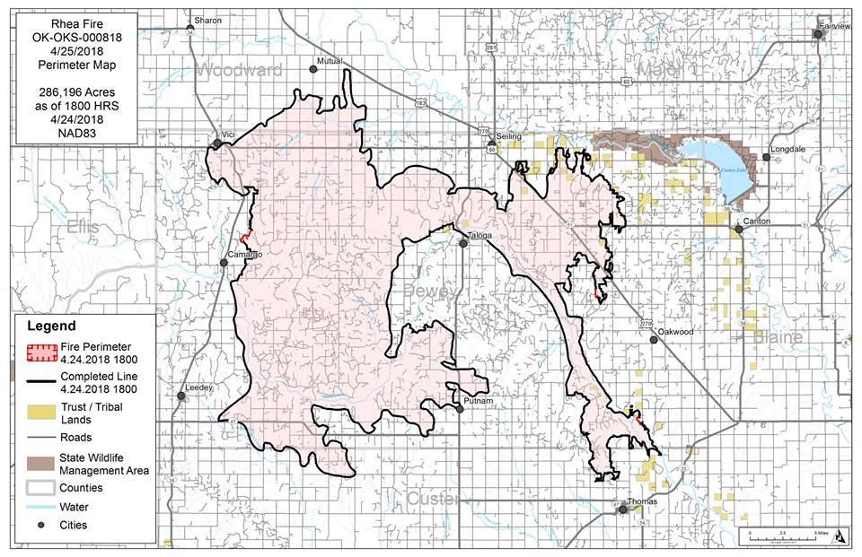 Rhea Fire Map.Okfire Hashtag On Twitter
