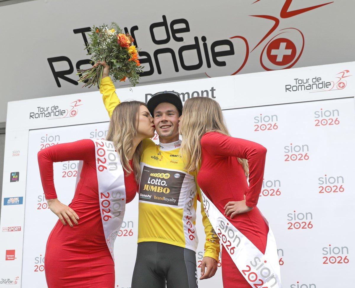 test Twitter Media - 🇨🇭#TDR2018 @rogla takes the lead in the Tour de Romandie  📝: https://t.co/neSzmPyGdC https://t.co/l3SmfJY9IV
