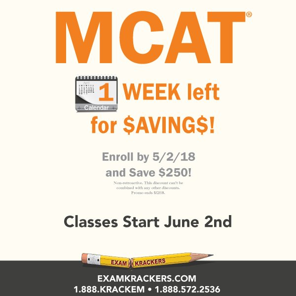 Examkrackers MCAT National Director (@EK_MCAT) | Twitter