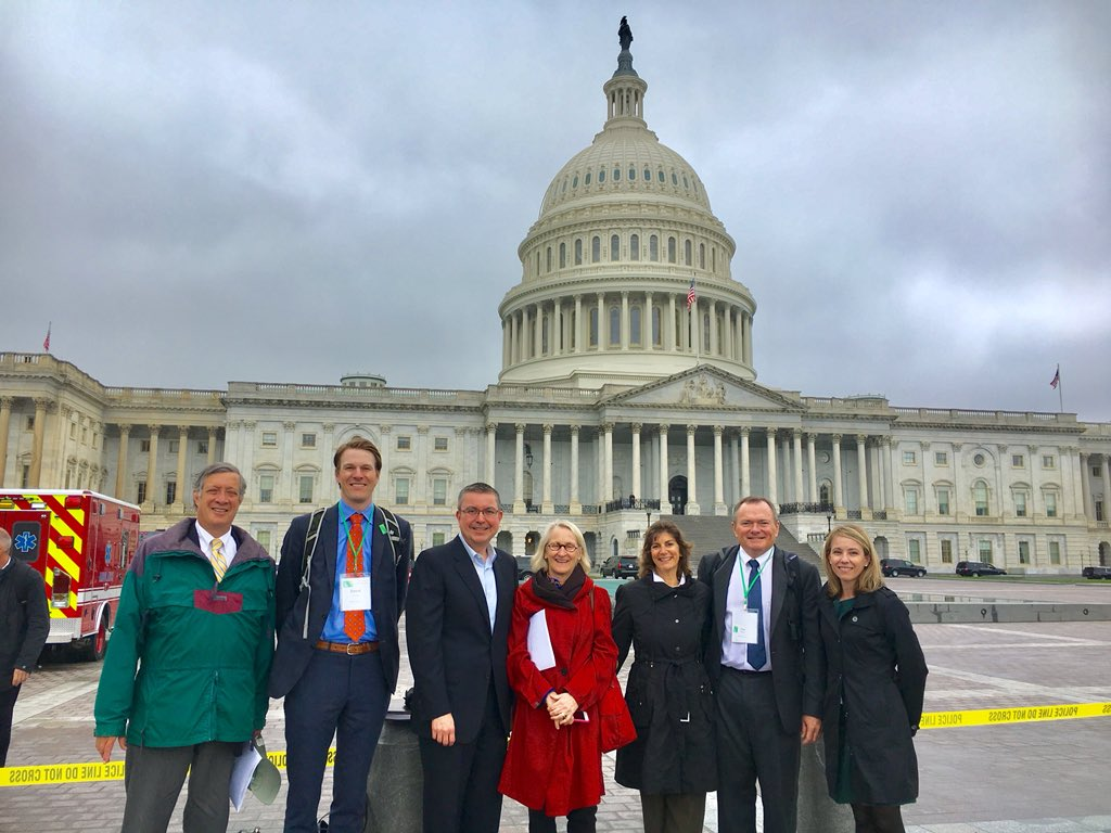 The Trust for Public Land on the Hill for the Land and Water Conservation Fund #LWCF and protecting #monuments #antiquitiesact #TPLontheHill<br>http://pic.twitter.com/8Yoi4gj6qI &ndash; à United States Capitol Building