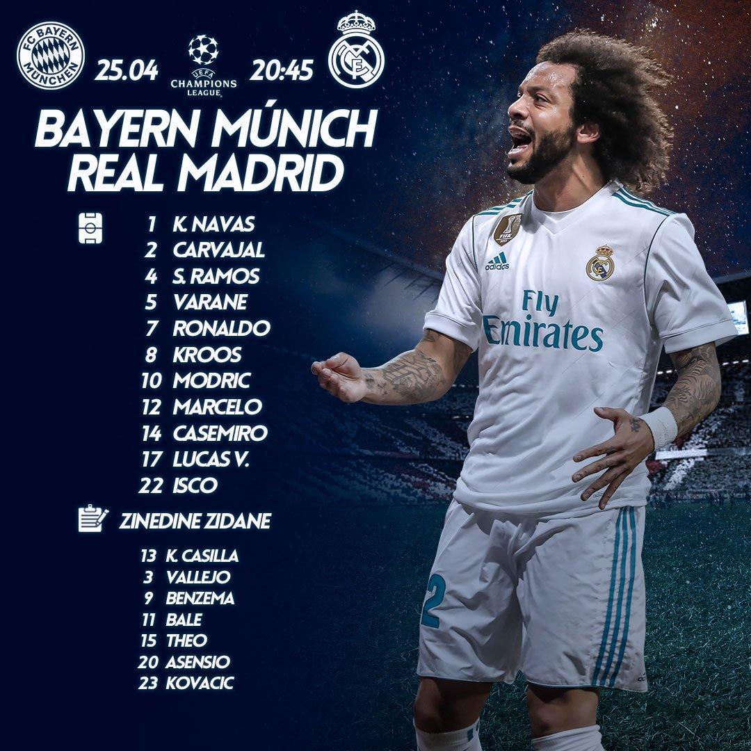 UCL SF1 17/18 | Bayern Munich Vs Real Madrid - Page 5 DbpS_7vXcAEfyZH