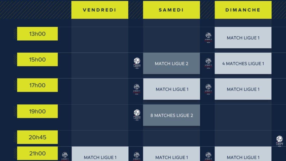 Calendrier 2020 Ligue 2.Adrien Chantegrelet On Twitter Le Calendrier 2020 2024 De
