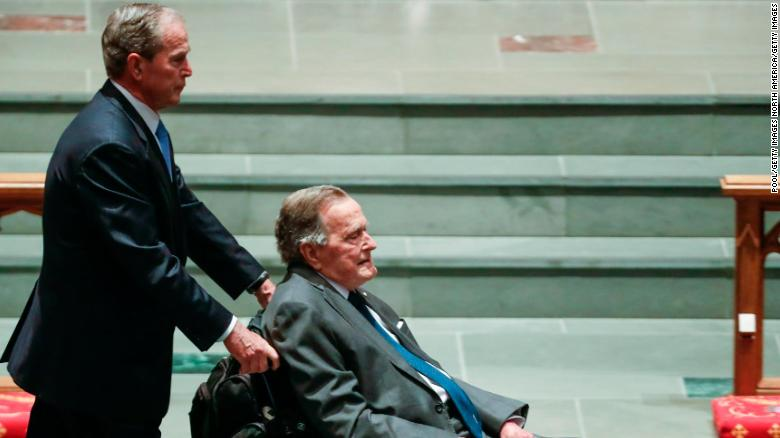 Former President George H.W. Bush is doing much better, a source close to the Bush family says, days after the 41st President was admitted to intensive care https://t.co/Y22MxID2oP