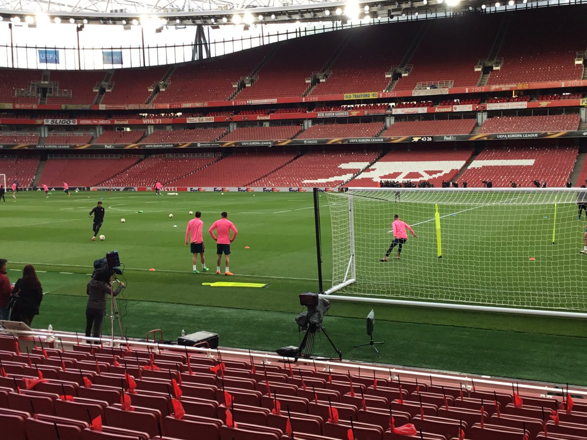 I'll be here at The Emirates tomorrow night bringing you updates of this massive game for The Gunners on @talkSPORTKO