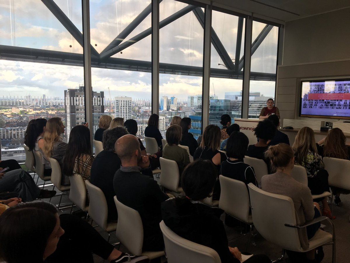 Excellent to see a full house at the @Women_Wearables Sustainability &amp; Smart Textiles event at our London offices this evening @brownejacobson @emelandaris @i_kleid @saveyrwardrobe @ButterflyTwists @MindFashion2Day @daiwear #womenintech #fashion #wearables #Grow<br>http://pic.twitter.com/TC17ujByco