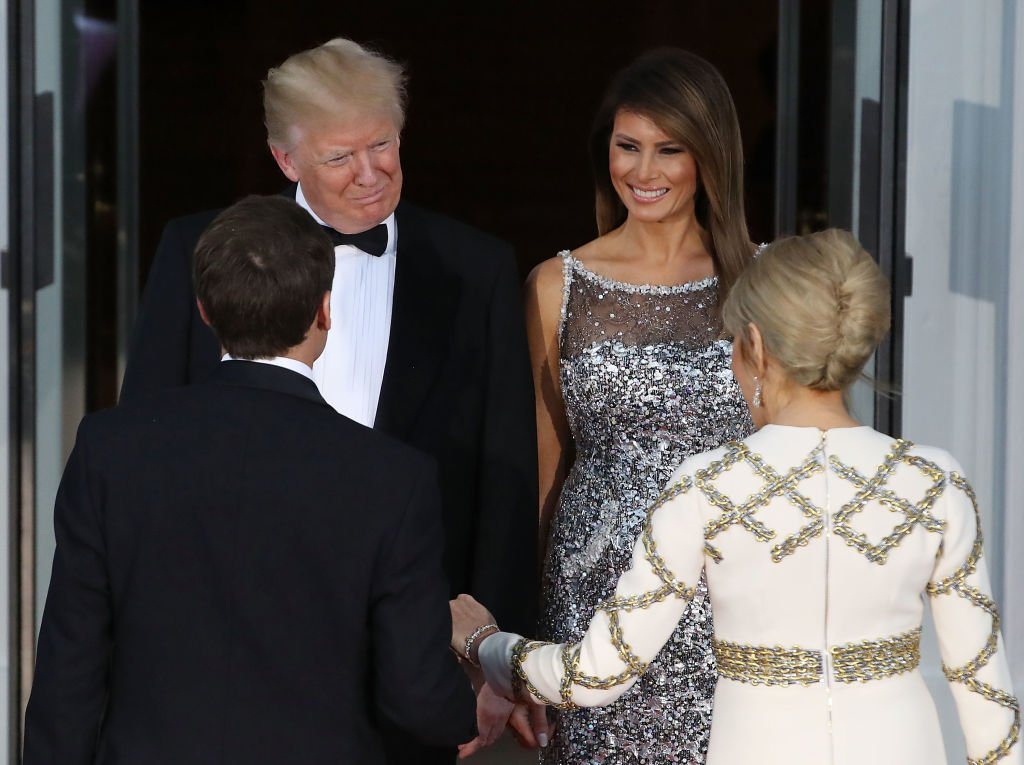 Melania Trump wears Chanel after Karl Lagerfeld reveals he is 'fed up' with the #MeToo movement: https://t.co/ObZkkRurzV