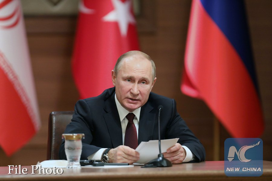 Putin says use of force by some countries bypassing UN Security Council plays into hands of terrorists https://t.co/do3NG6tJCj